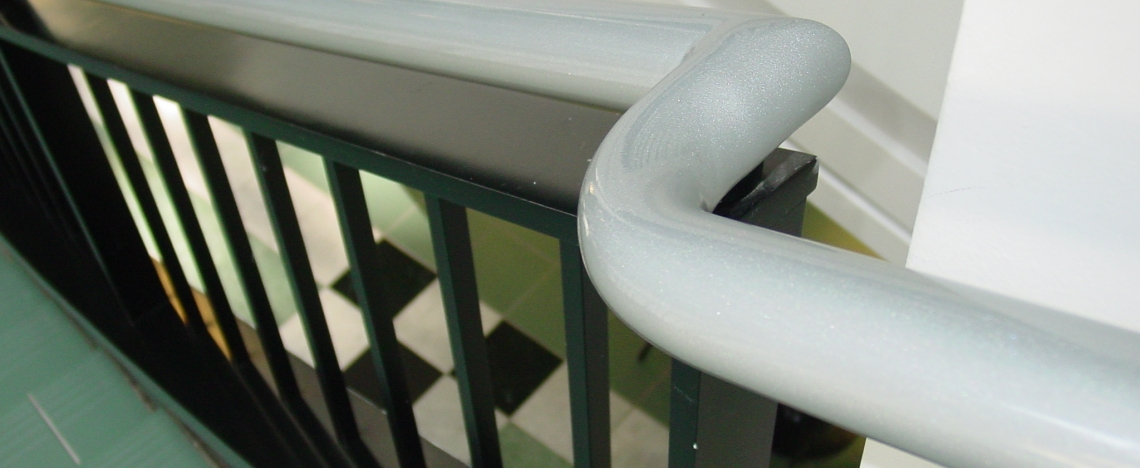 Handrail Electrostatic Painting