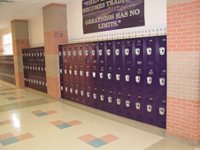 Electrostatic School Refinishing Contract Metal Paint Job