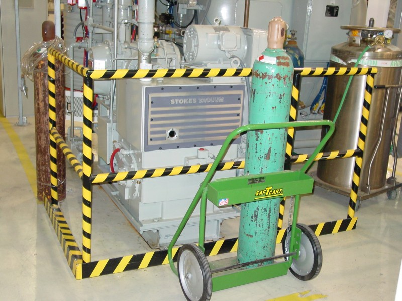 Electrostatic Painting of Safety Equipment