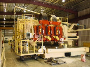 Large Machinery After Electrostatic Painting
