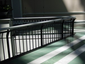 Electrostatic Painting of Metal Railing