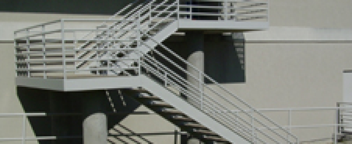 texas-electrostatic-painting-metal-staircase